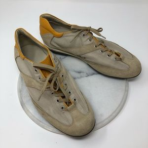 Authentic Tod's Leather Suede Sneakers
